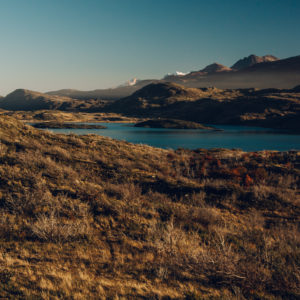 Torres del Paine Nationalpark. Great weather in autumn and wonderful trip