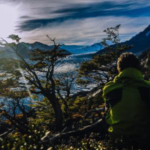 Aussicht im Im Torres del Paine